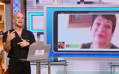 Telemedicina: El Dr. Juan Rivera dio su primera consulta virtual en Desp...