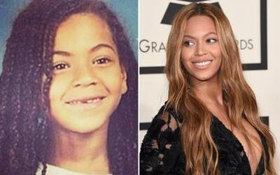 Beyoncé era muy carismática. En sus fotos del colegio posaba tan auténti...