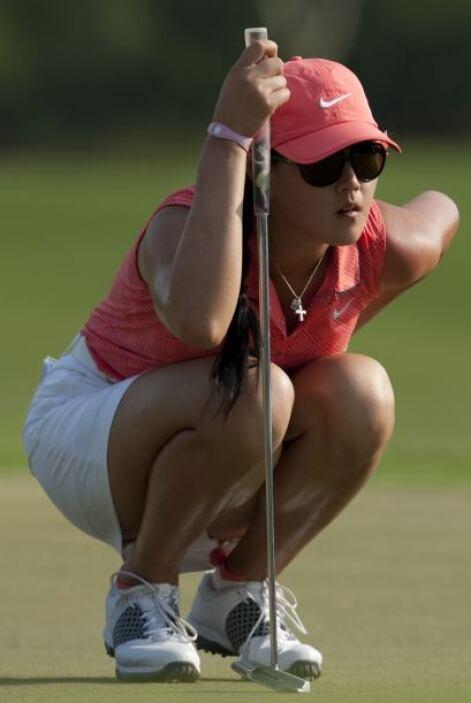 Wie es un magnífico ejemplo de la nueva generación de golfistas.