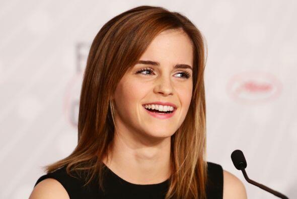 Emma Watson estudia literatura en la universidad de Brown.