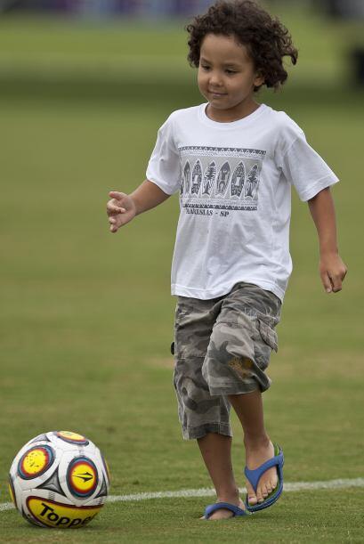 Esta hermosura de cinco años fue reconocida por Ronaldo en diciem...
