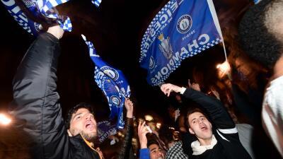 Leicester es campeón de la Premier League