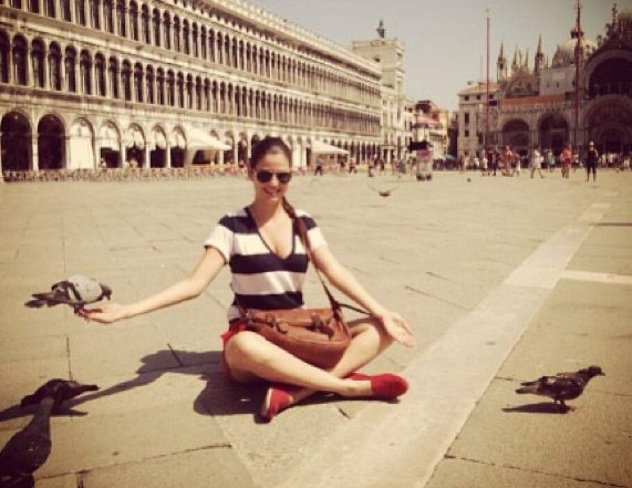"""Venecia"", compartió Ana Patricia González. (Agosto 7, 2013)"