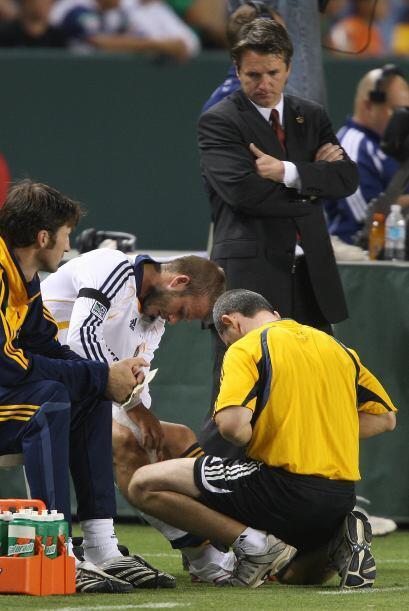 En su primera temporada con el Galaxy vivió entre lesiones y pudo...