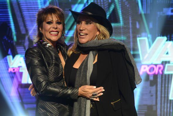 """Laura León, la """"Tesorito"""", corrió a abrazar a Al..."""