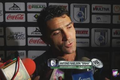 "Antonio Naelson ""Sinha"": ""Siento como la primera vez"""