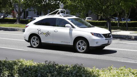Vehículo autónomo experimental de Google