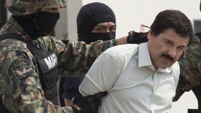 """Joaquín """"El """"Chapo"""" Guzmán en febrero de 2014."""