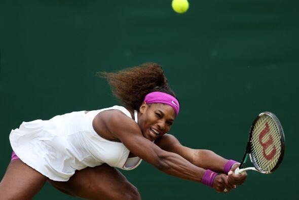 Serena Williams se sobrepuso a condiciones ventosas y a la tenaz oposici...