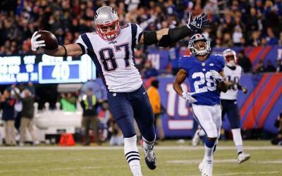En un partido digno dle recuerdo, los New England Patriots vinieron de a...