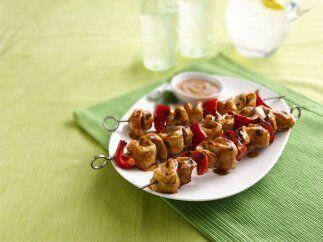 Brochetas de Pollo con Salsa Thai: ¿Quieres comer un sabor asiático hoy?...