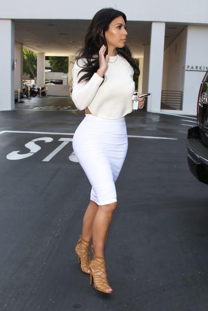 A pesar de que Kim se esmera en lucir muy fashion, muchos opinan que no...
