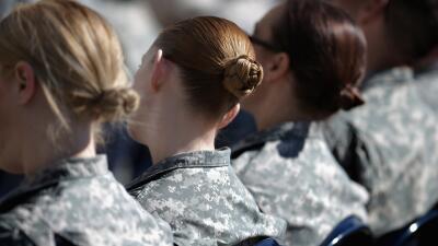 Mujeres del ejército de Estados Unidos.
