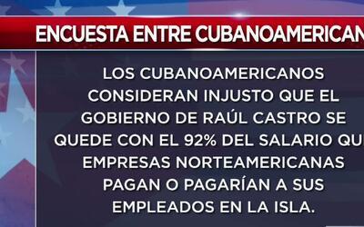 Encuesta revela que cubanoamericanos votaron de forma abrumadora por Trump