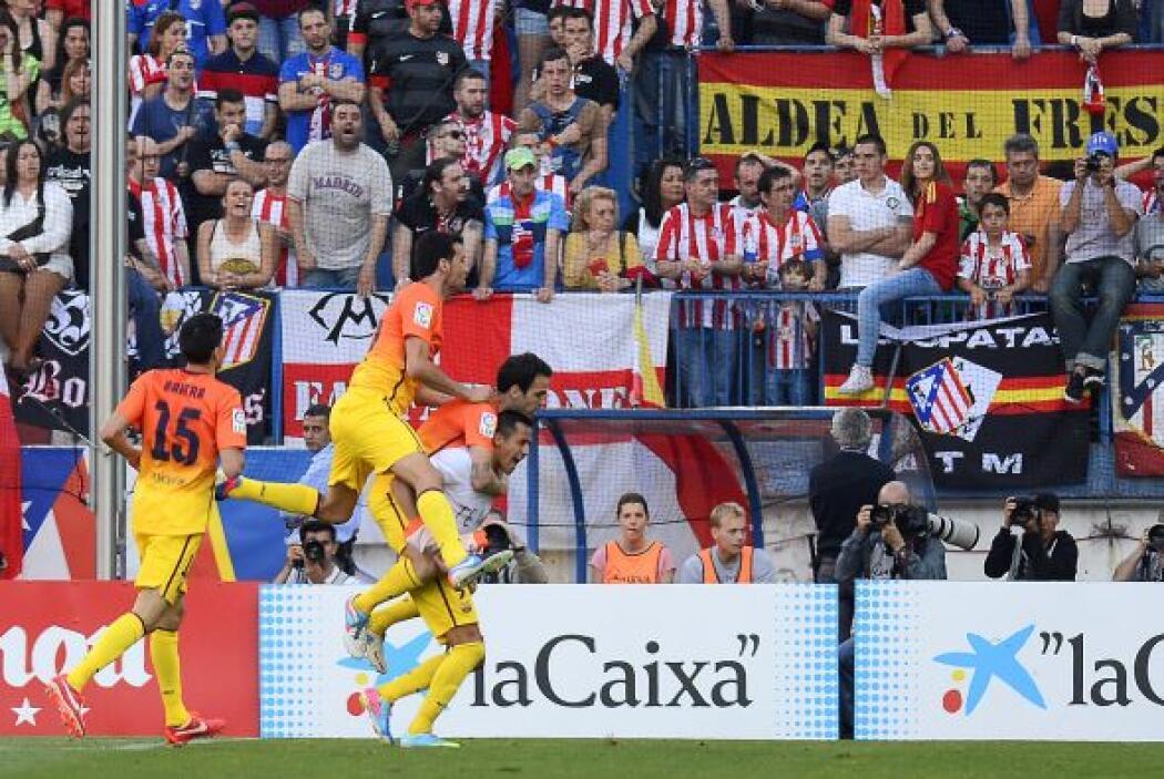 El atacante chileno inició una jugada para también culminarla para el 1-1.