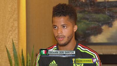 """Giovani dos Santos: """"Tenemos que ganar la Copa Oro"""""""