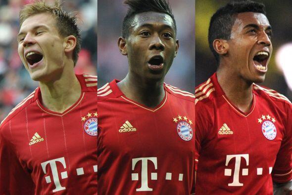 Las ausencias del Bayern para este juego son Holger Badstuber, Luiz Gust...