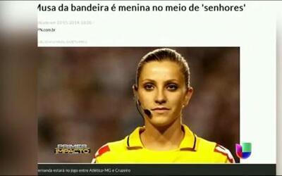 La sensación en el Mundial Brasil 2014 es mujer y se llama Fernanda Colombo