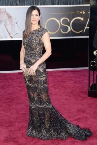 Las transparencias de Sandra Bullock nos mantuvieron muy entretenidos, p...