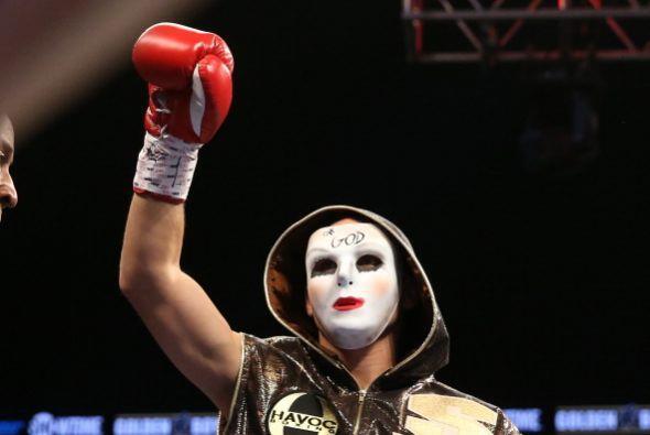 La pelea no fue por título mundial, Danny García se apuntó un triunfo má...