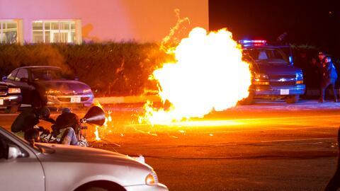Así se grabó la impresionante explosión causada por Óscar en 'La piloto'