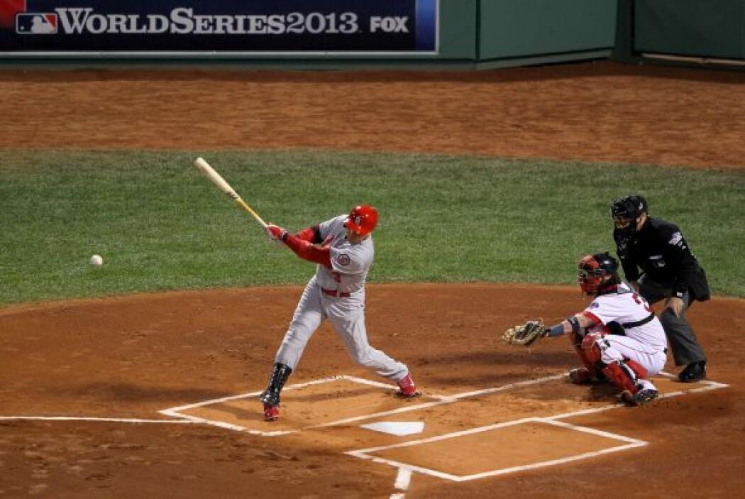 El bateo de los Cardinals apareció a la hora correcta, siete hits, cuatr...
