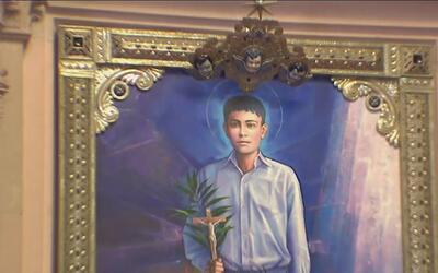 El Santo Joselito se ha convertido en el patrono de la juventud en Micho...