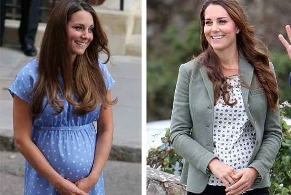 La duquesa de Cambridge ha recuperado su espigada figura a tan sólo poco...