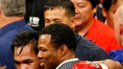 Los boletos del MGM Grand de Las Vegas para ver el pleito entre Manny Pa...
