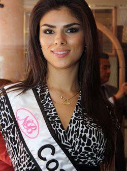 Abril Alejandra Rodríguez Fernández de 22 años es la reina de Coahuila.