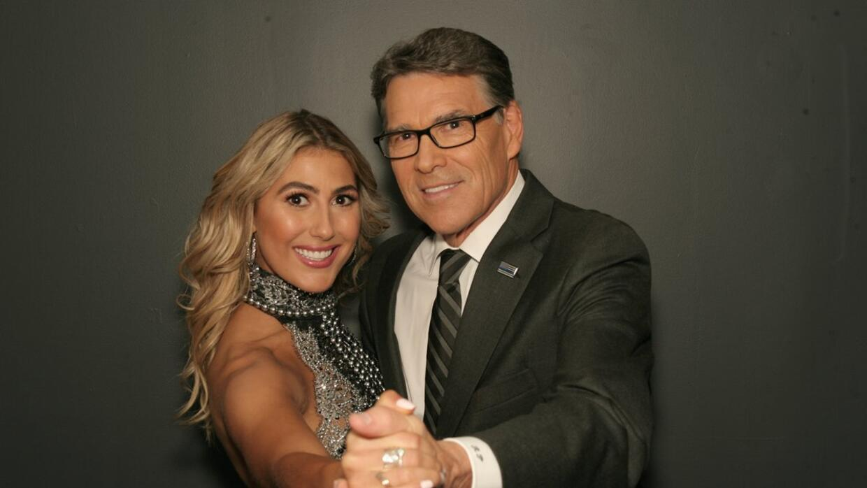 Emma Slater y Rick Perry, exgobernador de Texas, será pareja de baila en...