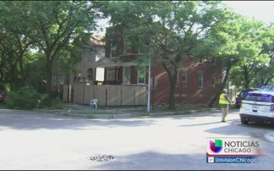 Edificio se desploma al oeste de Chicago y deja a dos heridos