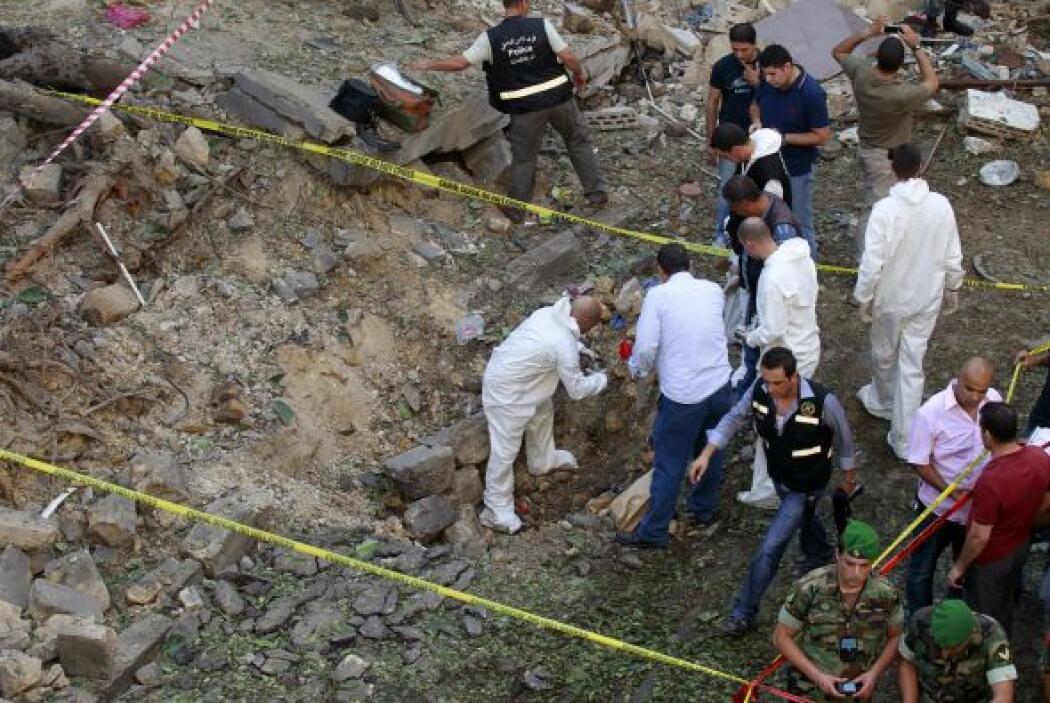 Aunque se desconoce el autor del atentado, fuentes policiales afirmaron...