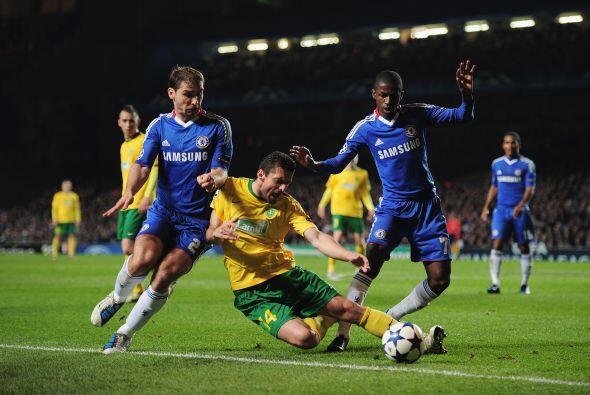 El Chelsea, ya clasificado, recibió al Zilina, que sorprendió al ponerse...