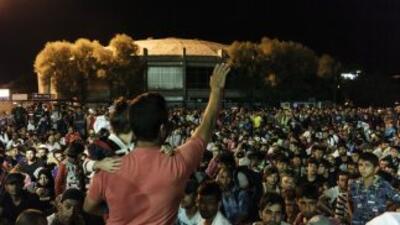 El éxodo masivo de ciudadanos mayoritariamente sirios que huyen del conf...