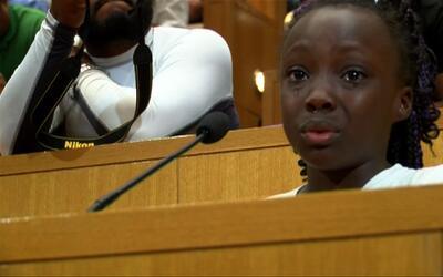 """""""Somos personas negras y no tendríamos que sentirnos así"""", las palabras..."""