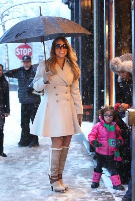 Durante su estancia en el Nevado lugar, Carey se dio tiempo para visitar...