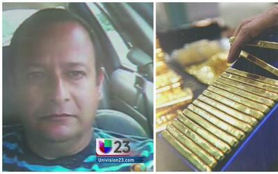 Sin fianza por el robo de 5 millones en lingotes de oro