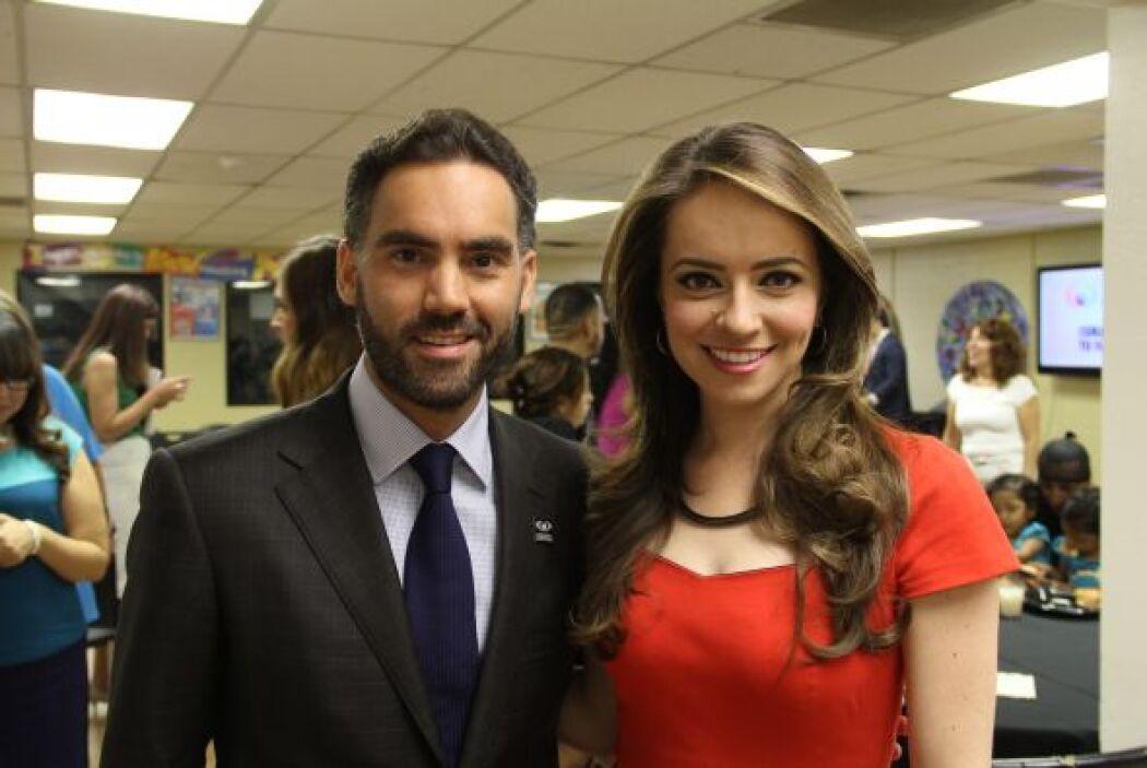 Enrique Acevedo y Heidi Renpenning se reunieron con las familias y líder...