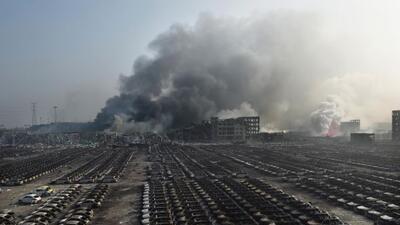 Lo ocurrido durante la noche del 12 de Agosto en Tianjin, China, fue una...