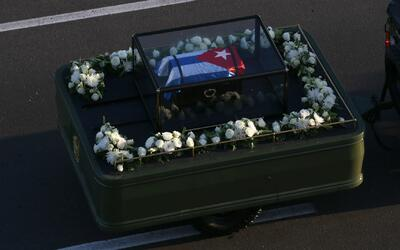 Unos 700 kilómetros recorrerá la caravana fúnebre de la libertad que tra...