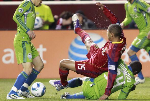 Real Salt Lake sacó una ventaja contundente ante el Seattle Sounders en...