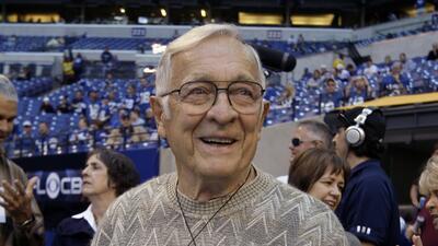 Ted Marchibroda, el ex head coach de Colts y Ravens, falleció a los 84 a...