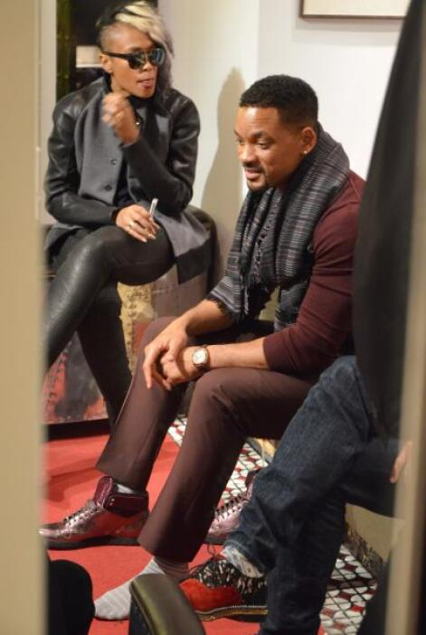 Will Smith y Jada Pinkett se fueron a comprar zapatitos. ¡Qué corte tan...
