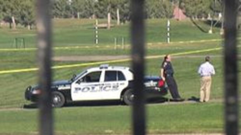 Policia de Phoenix en el campo de golf