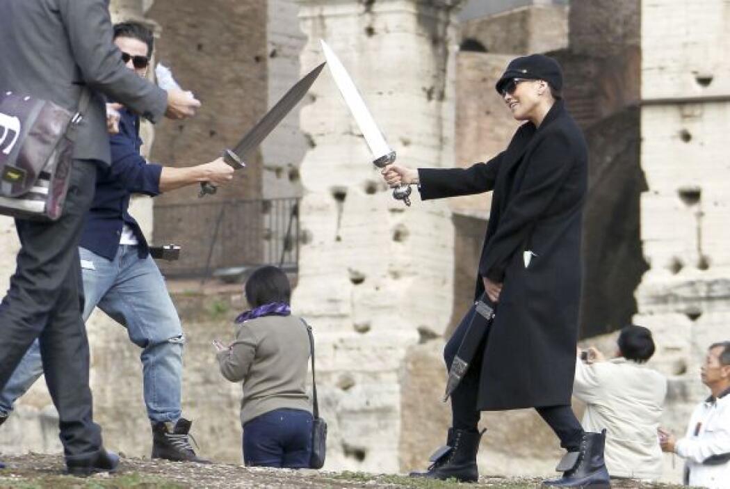 Así se les vio en Roma, muy juguetones.Más videos de Chismes aquí.