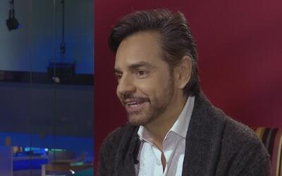 Eugenio Derbez habla sobre los retos que enfrentó durante la grabación d...