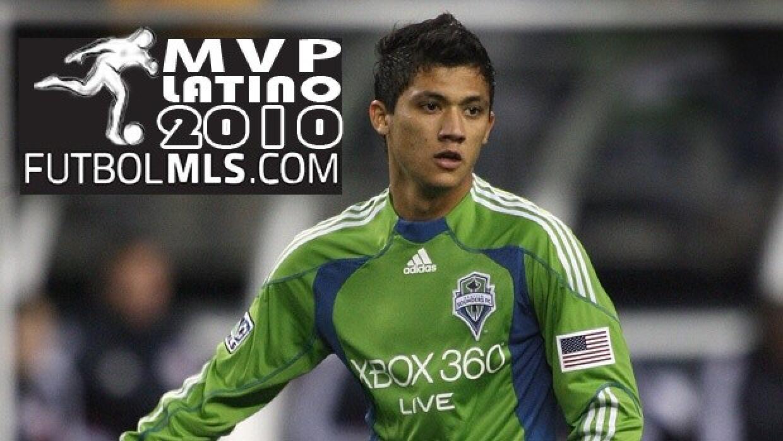 Freddy Montero Latino del Año 2010