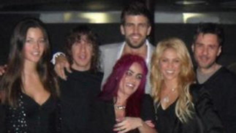 Shakira y Piqué celebraron cumpleaños