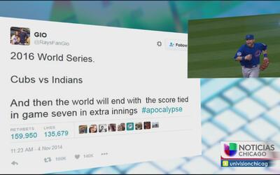 Usuario de Twitter predice la Serie Mundial dos años atrás
